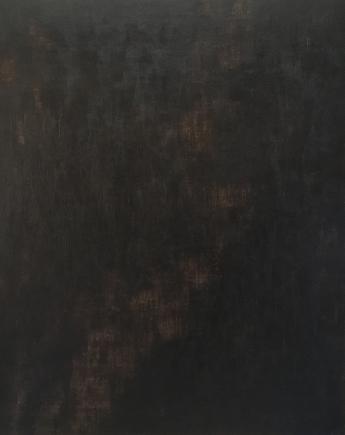 fathomless 2018 acrylics on linen canvas 145 x 115 x 3 cm