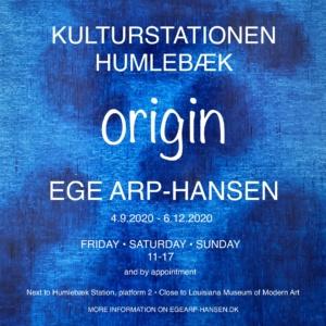 Ege Arp-Hansen origin poster 24 sept 2020 2