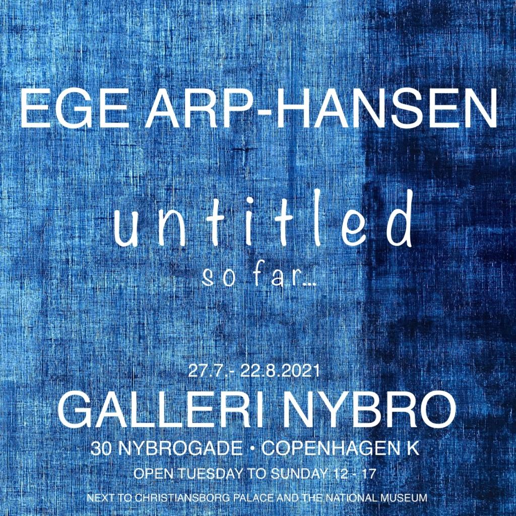 Arp-Hansen Solo Poster Nybro July August 2021
